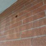 Ripristino mattoni a vista dopo isolamento intercapedini da esterno